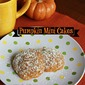 Pumpkin Mini Cakes Guest Post