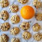 Orange Cardamom Cranberry Oatmeal Cookies