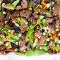 Steak + Wasabi Pea Salad with Hoisin Vinaigrette
