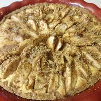 Autumn Apple Cheesecake