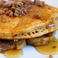 Pumpkin Streusel Pancakes