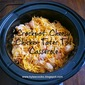 Crockpot: Cheesy Chicken Tater Tot Casserole