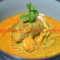 PISANG MASAK LEMAK KUNING / YOUNG BANANA IN HOT CREAMY YELLOW SAUCE