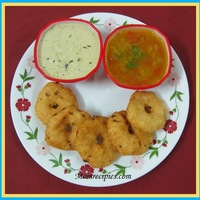 Medu Vada / Garelu / Vadai /How to make medu vada step by step
