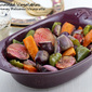 Roasted Vegetables with Honey Balsamic Vinaigrette