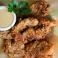 Buttermilk Fried Chicken Fingers with Honey Dijon Dipping Sauce