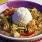 Fish curry stew