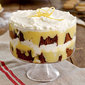 Gingerbread Trifle with Lemon Curd & Whipped Cream (can be *'Tipsy' if desired)