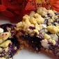 Blueberry Lemon Oatmeal Bars