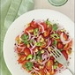 Gavurdaği Salatasi (Turkish Tomato Salad With Pomegranate Molasses & Sumac)