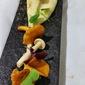 Chanterelle Mushrooms on Parsnip Puree