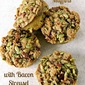 Apple Pumpkin Muffins with Bacon Streusel- #CrazyIngredientChallenge