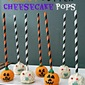 {No Bake} Peanut Butter Cheesecake Pops