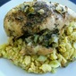 Chicken with Squash Dressing