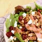 Cranberry and Goat Cheese Steak Salad.
