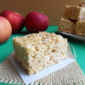 Brown Butter Apple Pie Rice Krispie Treats