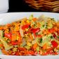 Carrot & Capsicum Omelette
