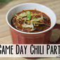 Game Day Chili Party with Vegetti