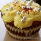 Cupcakes with a Desi Twist | Festive season goes on..
