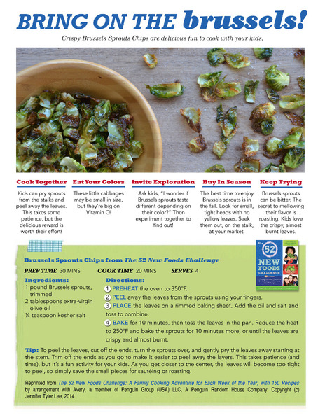 Roasted Brussels Sprouts Chips
