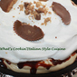 Hot Fudge Peanut Butter Pie
