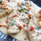 Creamy Parmesan and Sundried Tomatoe Chicken