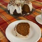 Pumkin Bundt Cake with Cream Cheese Frosting