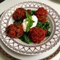 Herbed Lamb Meatballs with Rich Tomato Sauce