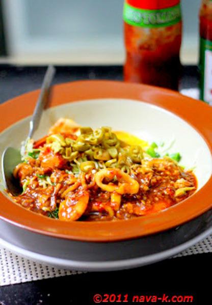 Noodles In Thai Sauce