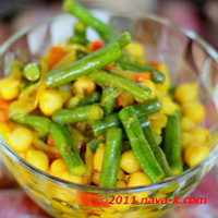 Spicy Chickpea & Long Beans