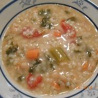 Chicken White Bean Florentine Soup