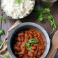 Rajma Chawal (Red Kidney Bean Curry with Rice)