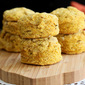 Vegan Pumpkin Biscuits with Sage & Thyme