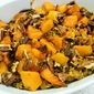 Wild Rice With Dried Cranberries, Apricots And Butternut Squash