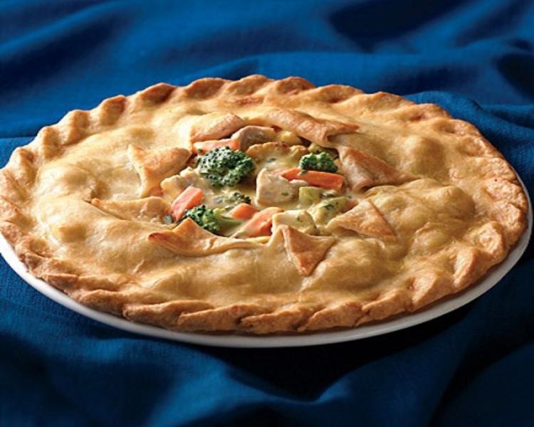 Deep-Dish Turkey Pot Pie