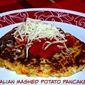 Thanksgiving Leftovers #SundaySupper...Featuring Italian Mashed Potato Pancakes