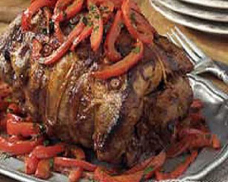 Overnight Lamb Roast