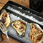 Grilled Oysters with Bacon and Jalapeños