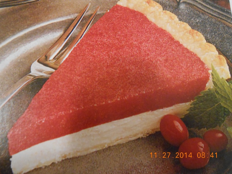 Holiday Cranberry Cheese Pie