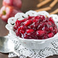 Cranberry Sauce with Apples and Cinnamon