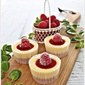 Mini Raspberry Cheesecake
