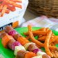 Roasted Root Vegetable and Hot Dog Skewers (Plus 4 More 30-Minute Meal Ideas with Alexia Foods)
