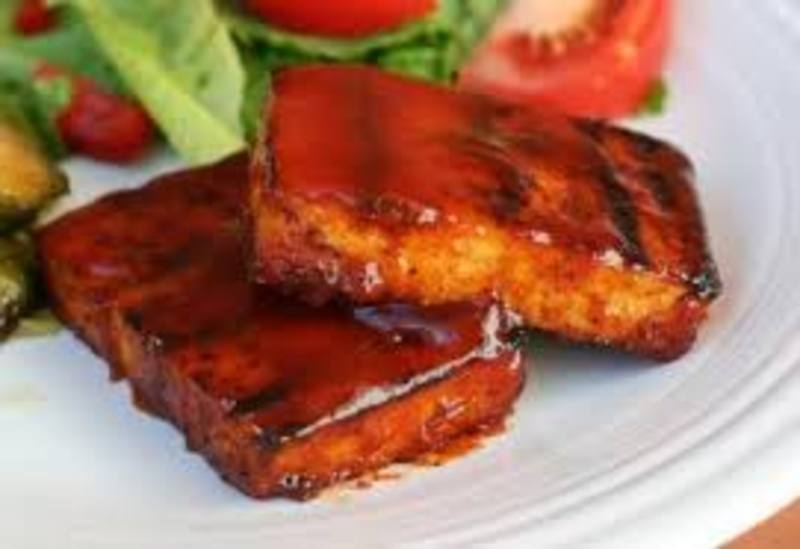 Whiskey Tofu Ribs