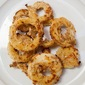 Ring in The Holidays With Gluten Free Oven-Fried Onion Rings.