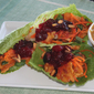 Mandrin Cranberry Chick'n Lettuce Wraps
