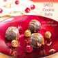 OREO Cookie Balls with Salted Caramel Sauce