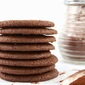 Cocoa Molasses Chew Cookies