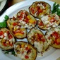 Potato Skins with Blue Cheese and Smoked Almonds