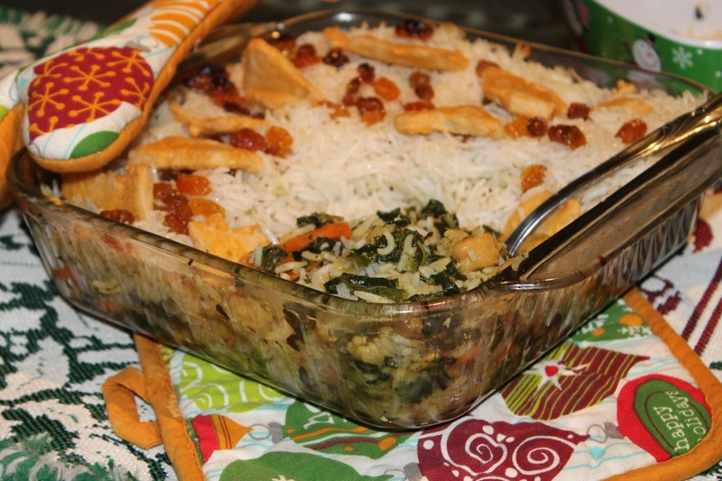 Curried Coconut Chick'n & Rice Casserole