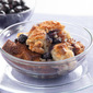 Creamy Blueberry Bread Pudding